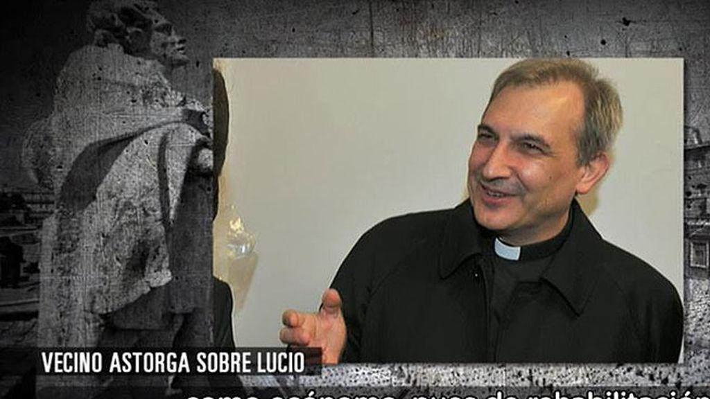 ¿Qué relación tenía Vallejo Balda con la constructora de su casa en Astorga?