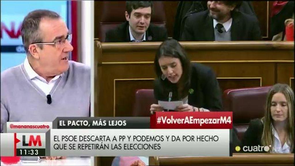 """Juan Pedro Yllanes (Podemos): """"¿Por qué tiene que estar todo perdido?"""""""