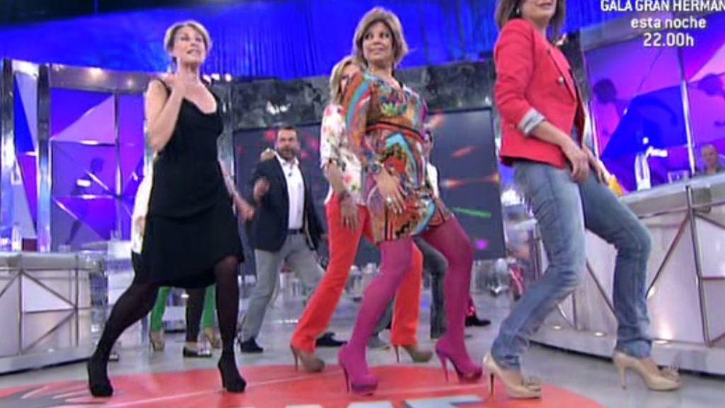 La coreógrafa Cocó Comín ha sido la profesora del peculiar grupo