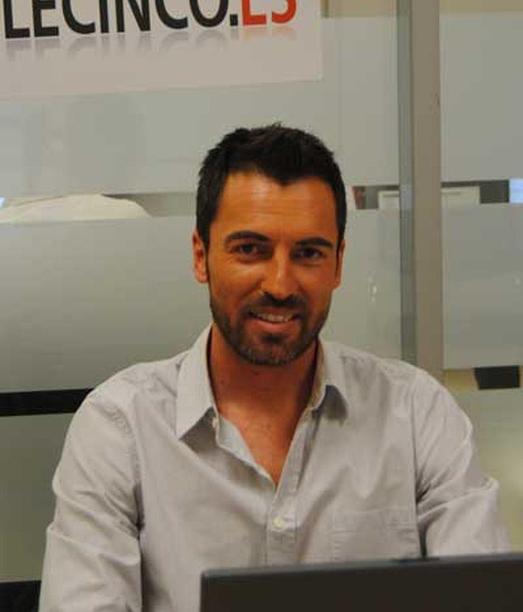 David Verdú visita telecinco.es