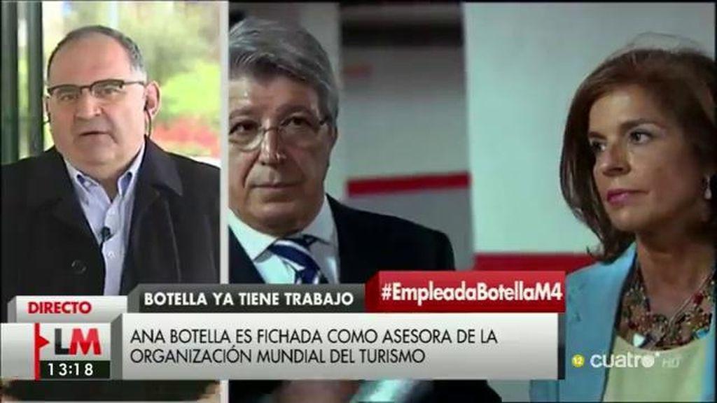 """Losada, irónico con el fichaje de Ana Botella: """"Siempre se llevan a los mejores"""""""
