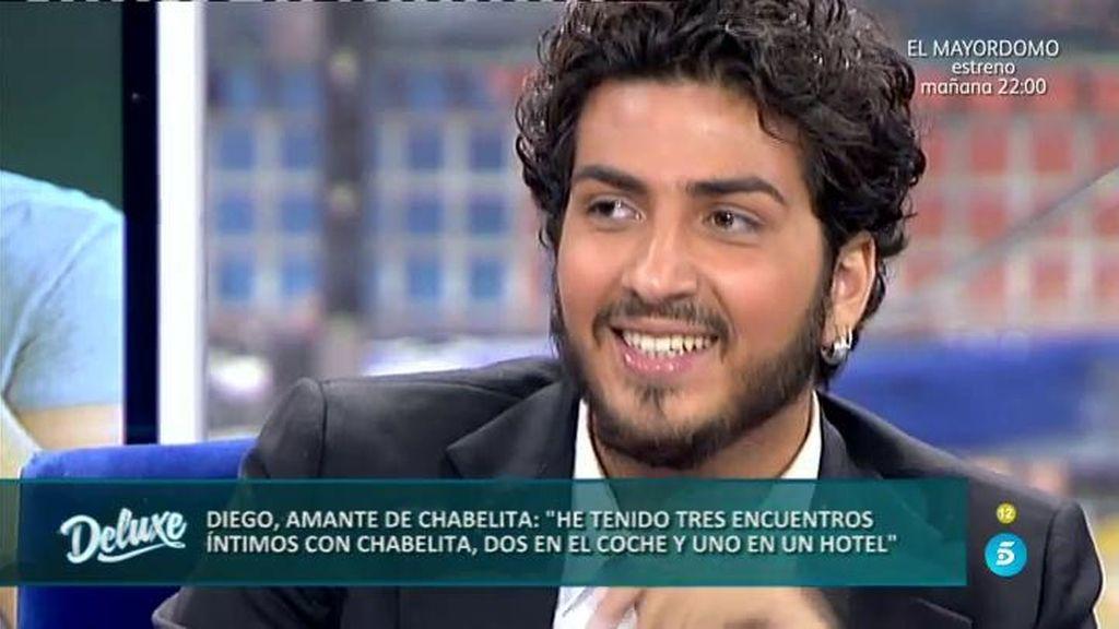 """Diego: """"Tuve tres encuentros amorosos con Chabelita y no sólo uno como dice ella"""""""