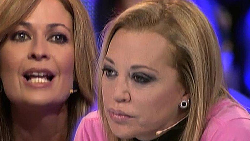 """Belén Esteban, a Olvido Hormigos: """"La convivencia contigo para mí era imposible"""""""