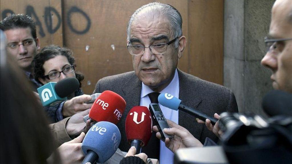 El presidente de la Cámara de Comercio de Vigo, José García Costas. EFE/Archivo