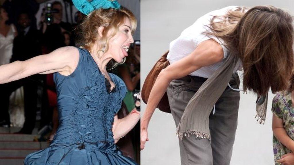 Doña Letizia saca músculo como Madonna