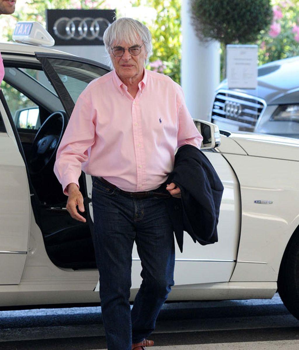 Bernie Ecclestone, patrón de la Fórmula 1. Foto: GTres