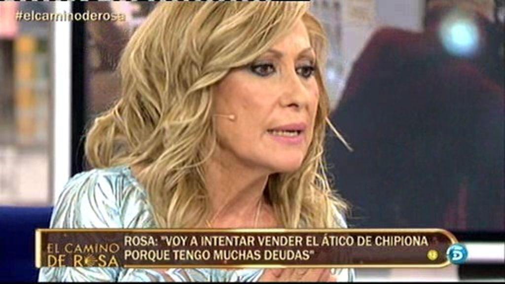 """Rosa: """"Quiero vender mi ático de Chipiona y mi casa de Torrejón para saldar deudas"""""""