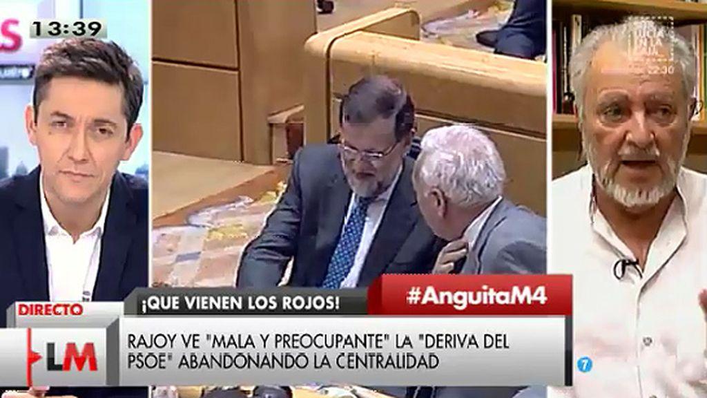 Julio Anguita responde a Rajoy