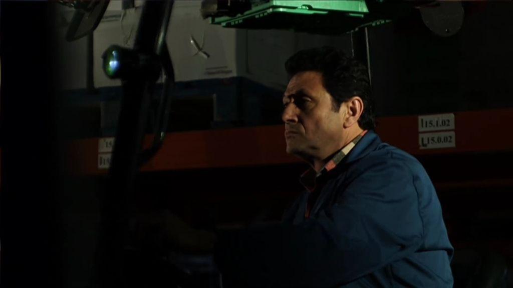 Antonio Álvarez relata una fatídica noche de trabajo bajo la mirada de una presencia