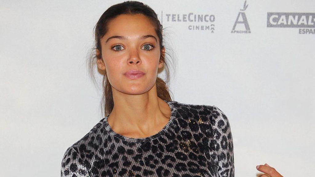 La actriz Ana Rujas, deslumbrante en el photocall
