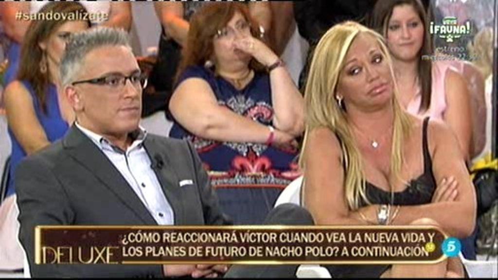 """Víctor Sandoval, sobre Israel Lando: """"Es imposible porque a Belén no le gustan así"""""""
