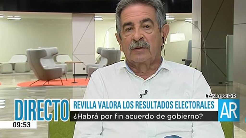 "Revilla: ""No descarto que, voluntariamente, Rajoy comparezca un día y se retire"""