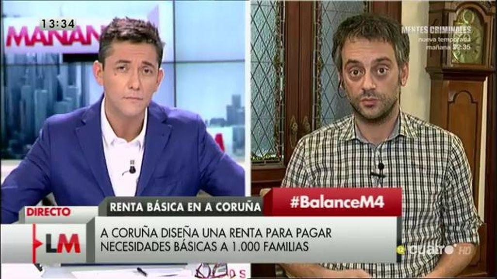 """Ferreiro, sobre la renta social municipal: """"Es crucial salvar para a las personas"""""""