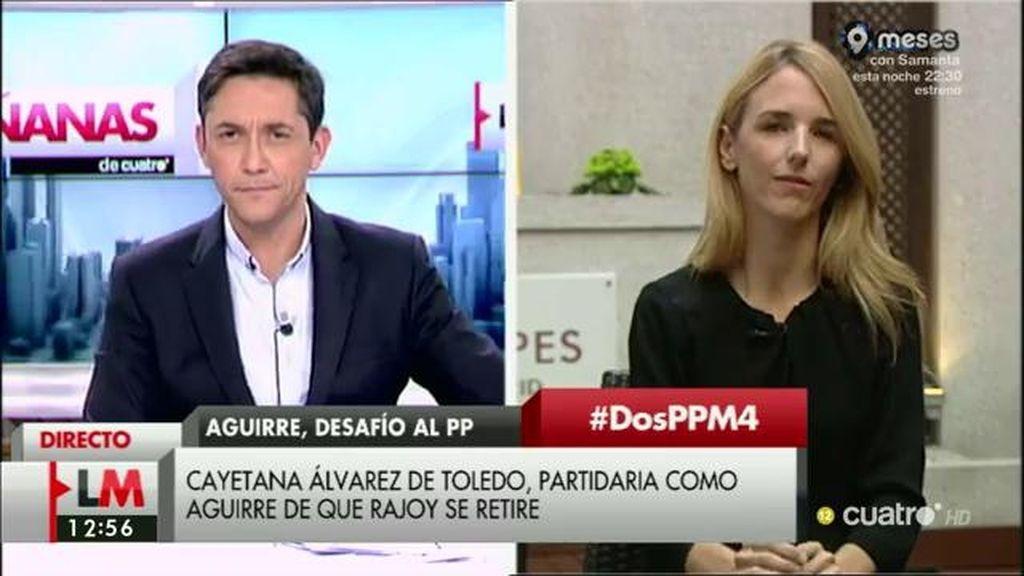 La entrevista con Cayetana Álvarez de Toledo en 'Las Mañanas', a la carta