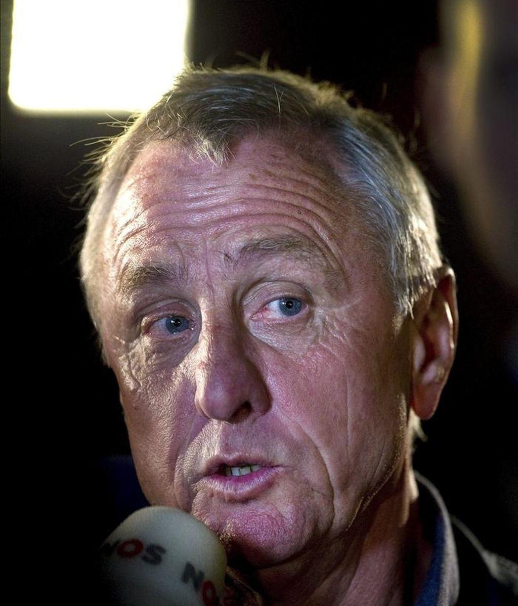 El holandés Johan Cruyff. Foto: EFE/Archivo
