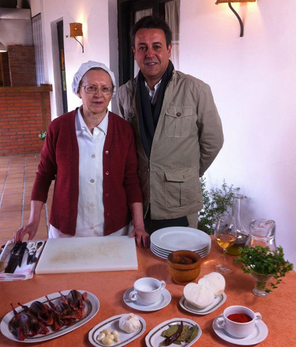 Doña Carolina, del Restaurante Roxi, una enciclopedia de la mejor gastronomía