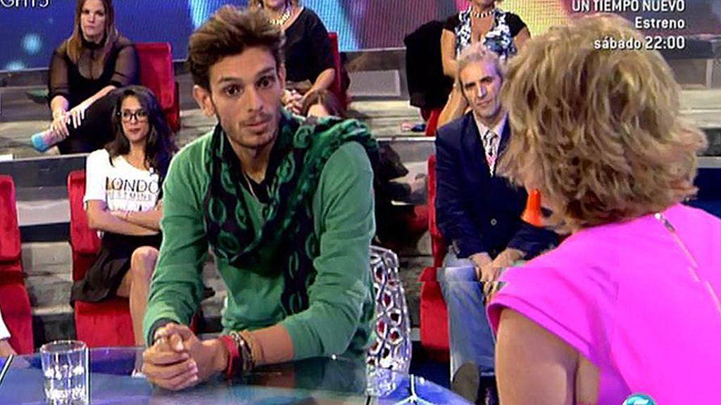 """Alfredo, sobre Yoli: """"Antes de salir de la casa me he reconciliado con ella"""""""