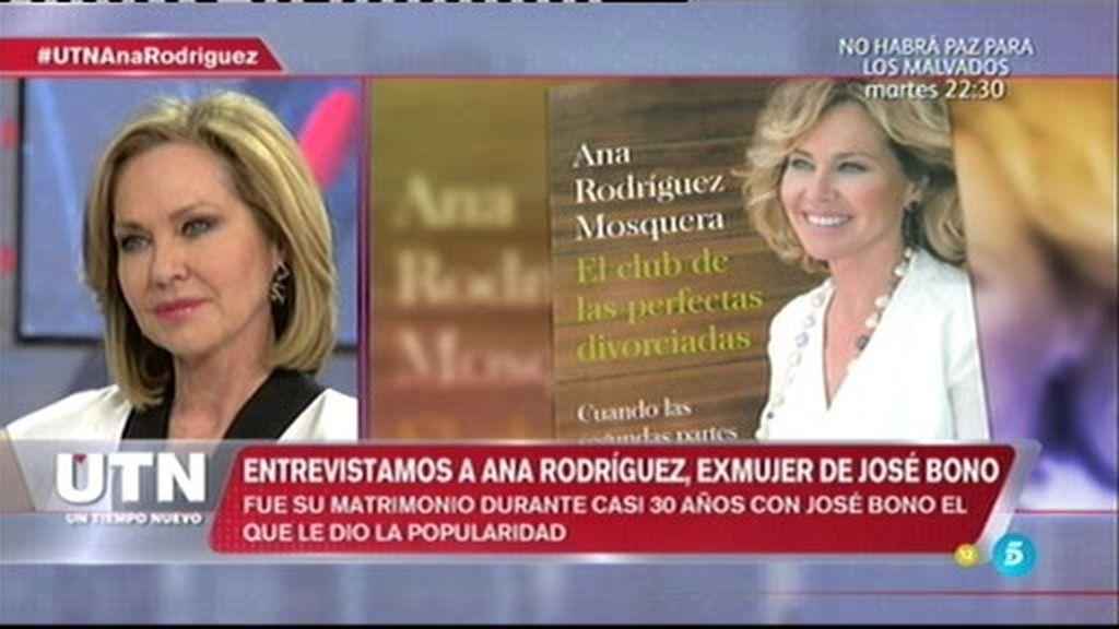"""Ana Rodríguez, sobre José Bono: """"Le puede molestar que le haya mencionado en el libro"""""""
