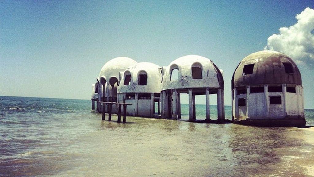 Las casas domo abandonadas en Florida