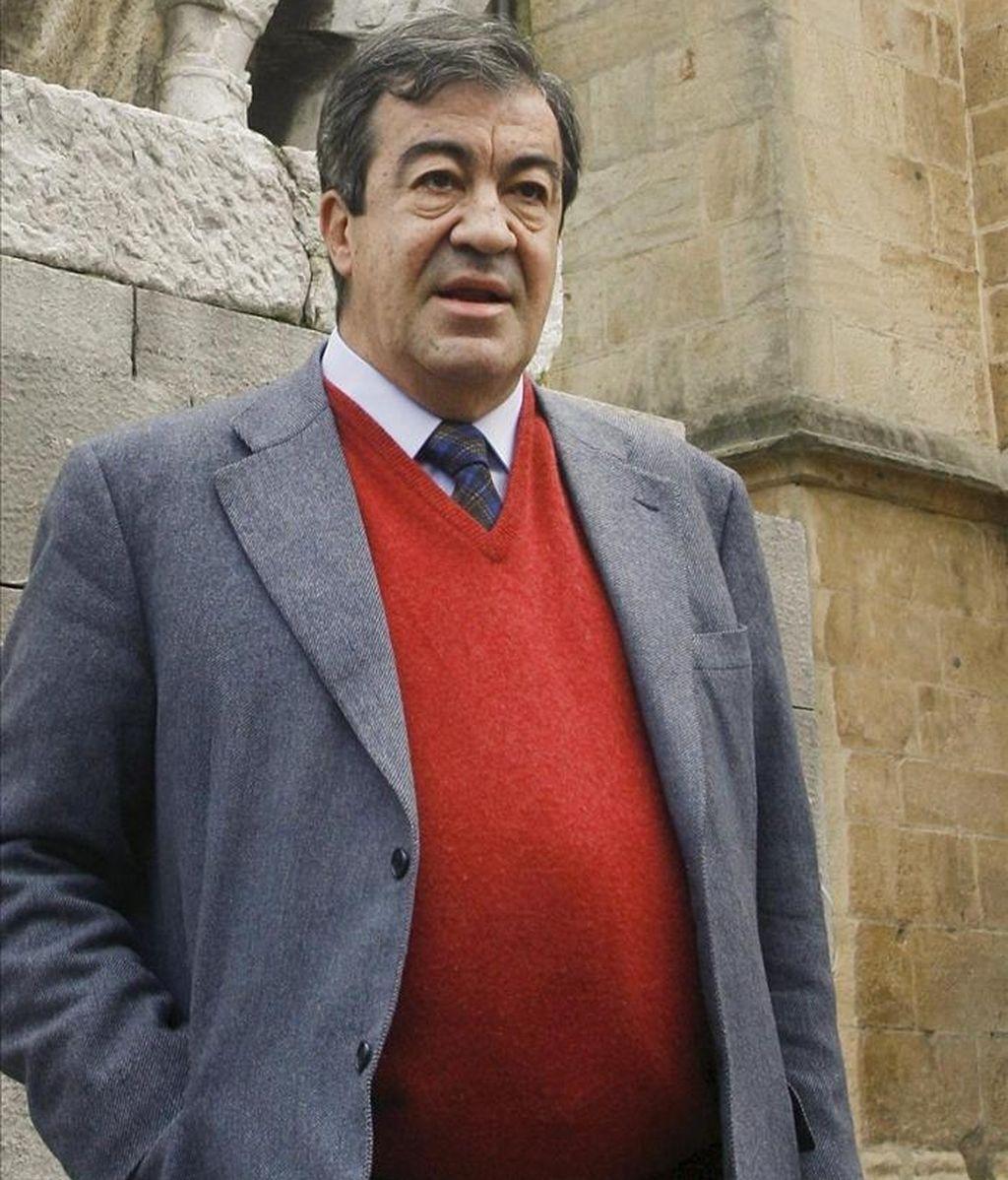El exvicepresidente del Gobierno y candidato de Foro Asturias a la Presidencia del Principado, Francisco Álvarez-Cascos. EFE/Archivo