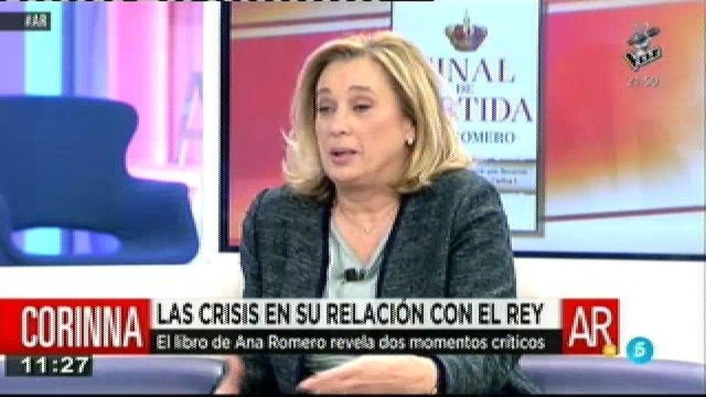 """M. Alcázar: """"Corinna quiere ajustar cuentas con quien puso trabas a su relación"""""""
