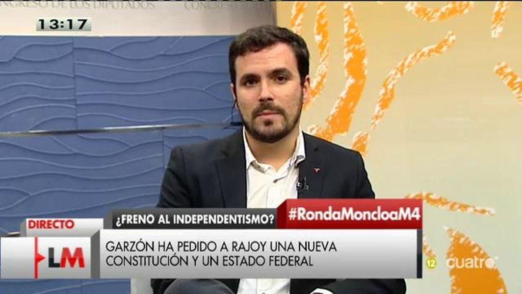 """Alberto Garzón, candidato IU: """"Nuestro país tiene que aprender de la Transición. Se sentaron a hablar represores y reprimidos"""""""