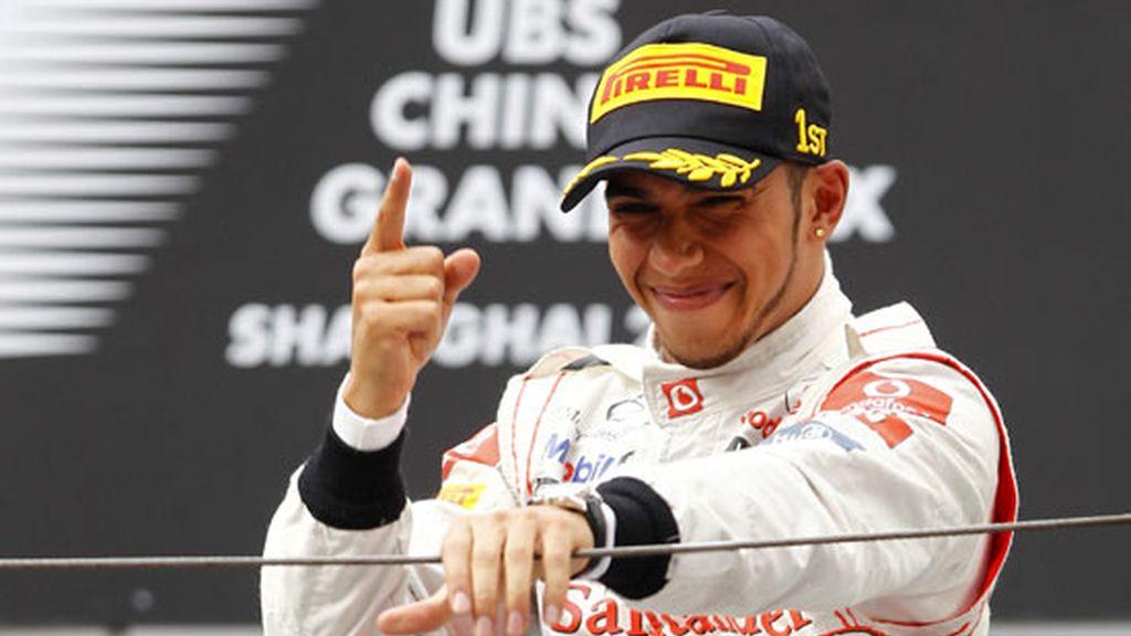 Lewis Hamilton ganó en China la última carrera celebrada hasta el momento. Foto: GTres