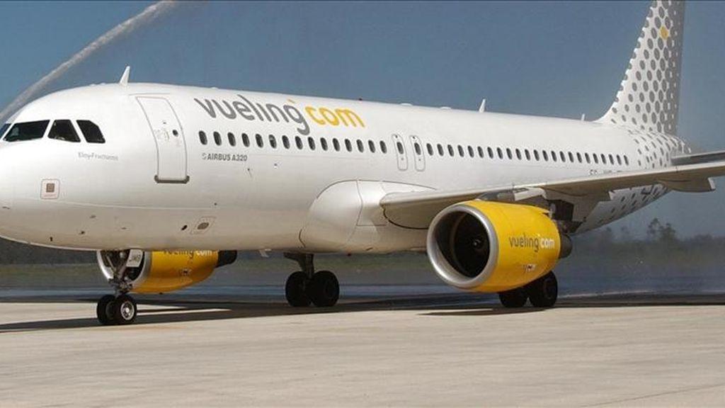 Imagen de un avión de la compañía 'Vueling'. EFE/Archivo