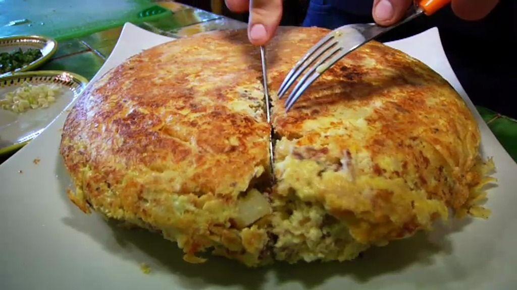 Recetas imprescindibles: Tortilla de avestruz