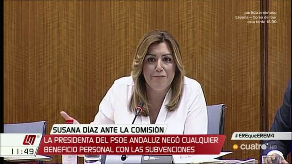 """Susana Díaz: """"Me ha casado con un tieso"""""""