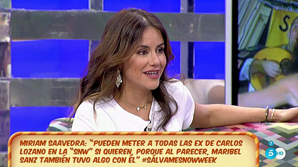 ¿Cómo va a llevar Mónica lo de convivir con Carlos Lozano en 'SLVM Snow Week'?