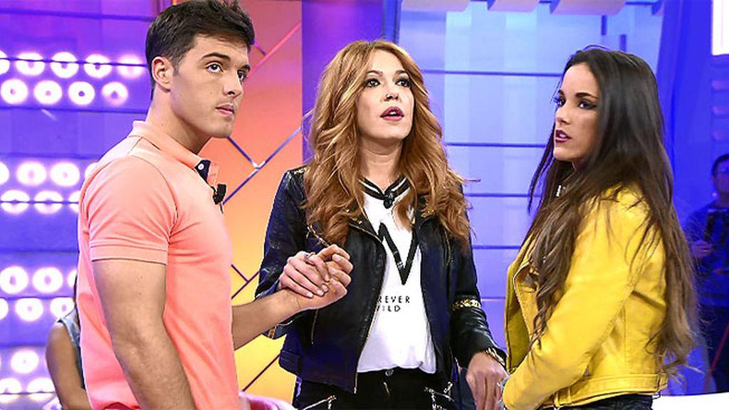 'Marisofi' intenta reconciliar a Lukas y Marta pero es algo imposible