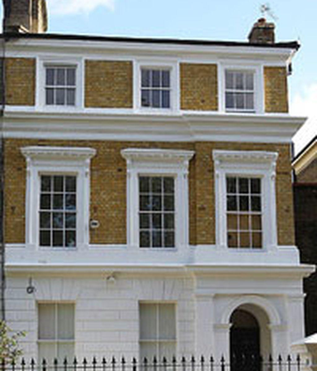 La casa de Camden, donde vicía la cantante Amy Winehouse.