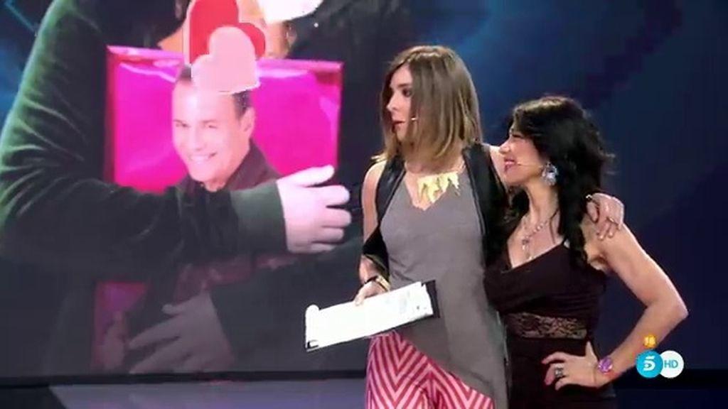 """Maite revoluciona el plató con 'La papela del camión': """"Quiero conquistar a Carlos Lozano"""""""