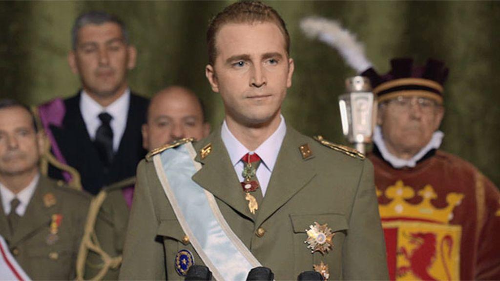 El día de la coronación de Juan Carlos I