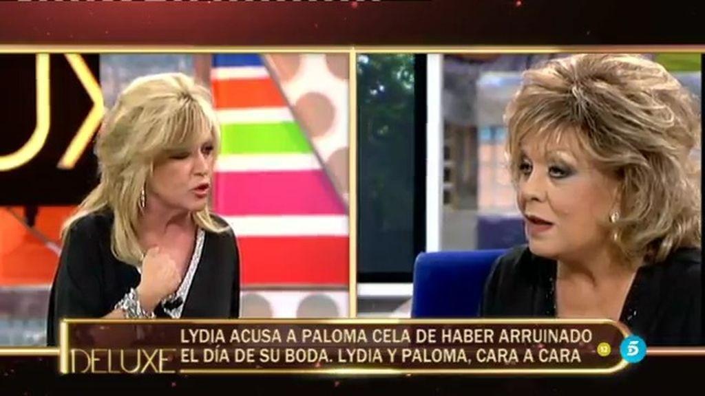 """Lydia Lozano a Paloma Cela: """"Te has cargado una amistad"""""""