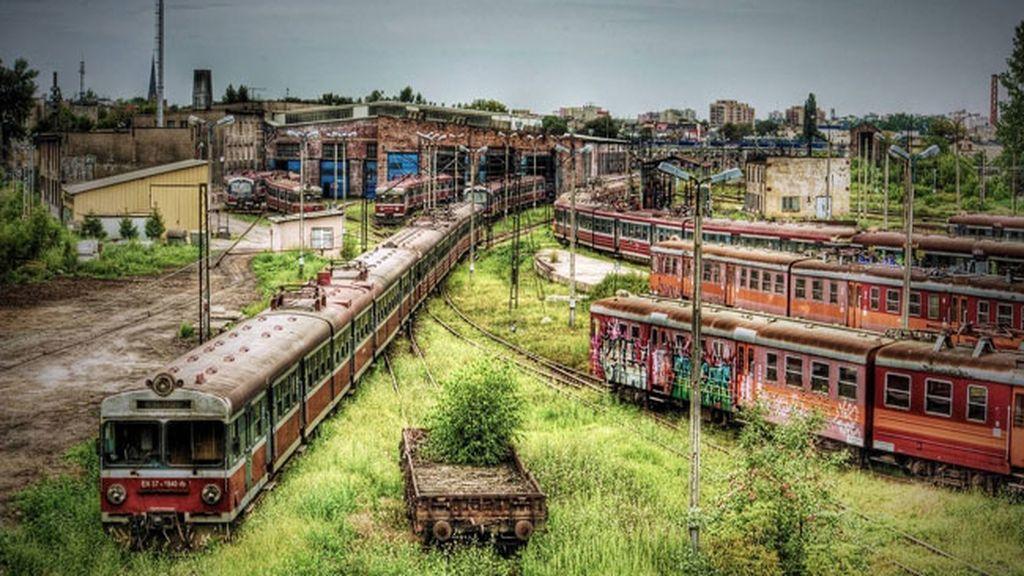 Estación de trenes abandonada de Cincinati, EEUU