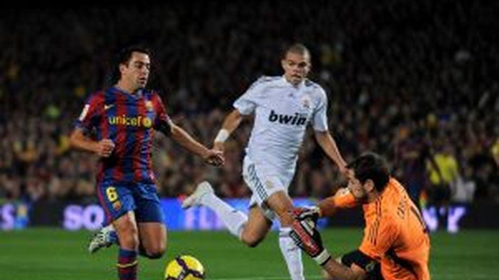 Casillas quiere frenar al Barça. Foto: Archivo.