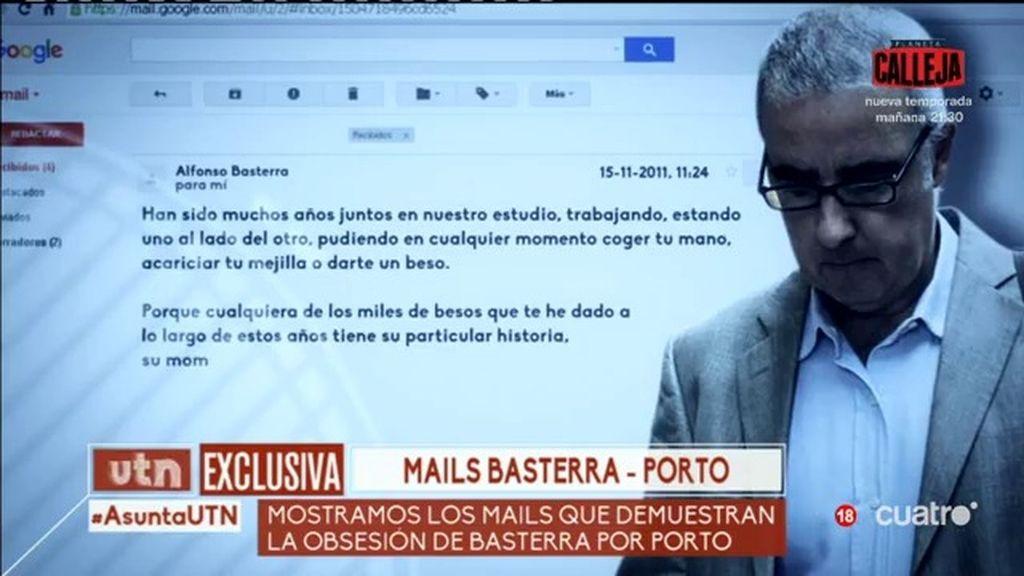 """Así son los emails de Alfonso Basterra a Rosario Porto: """"Respiro únicamente por tí"""""""