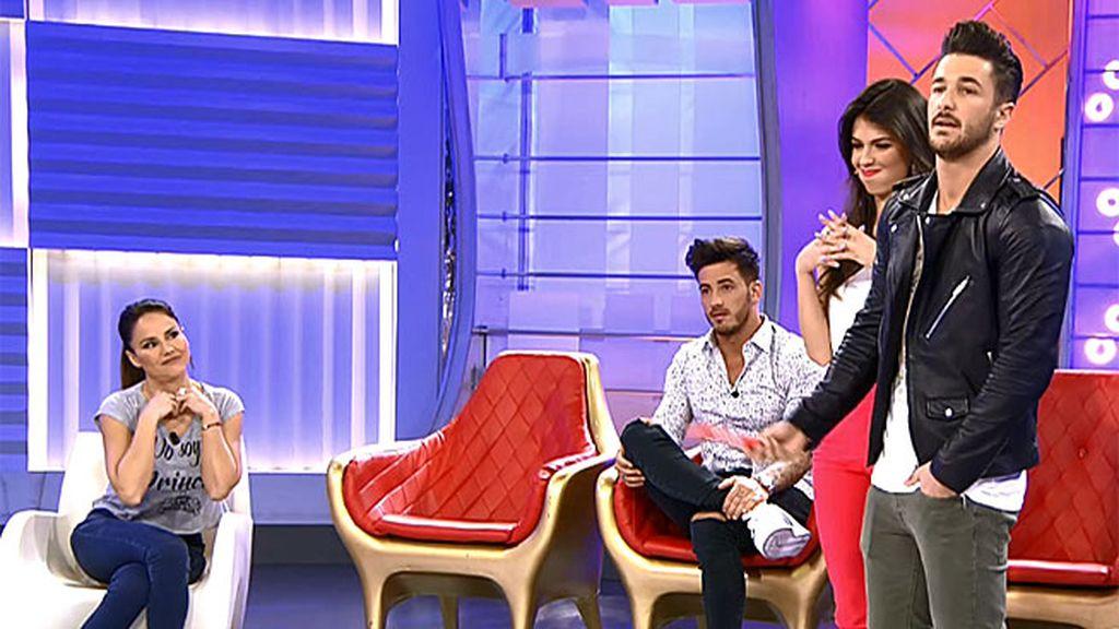 "Mónica Hoyos: ""Detrás de cámara a Iván y a Sofía se les ve demasiado bien juntos"""