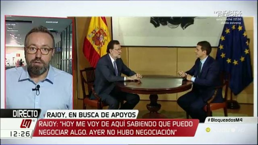 """Juan Carlos Girauta: """"Estoy seguro de que, al final, el PSOE se abstendrá"""""""