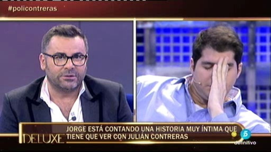Jorge Javier Vázquez cuenta una historia muy íntima de Julián Contreras Jr.