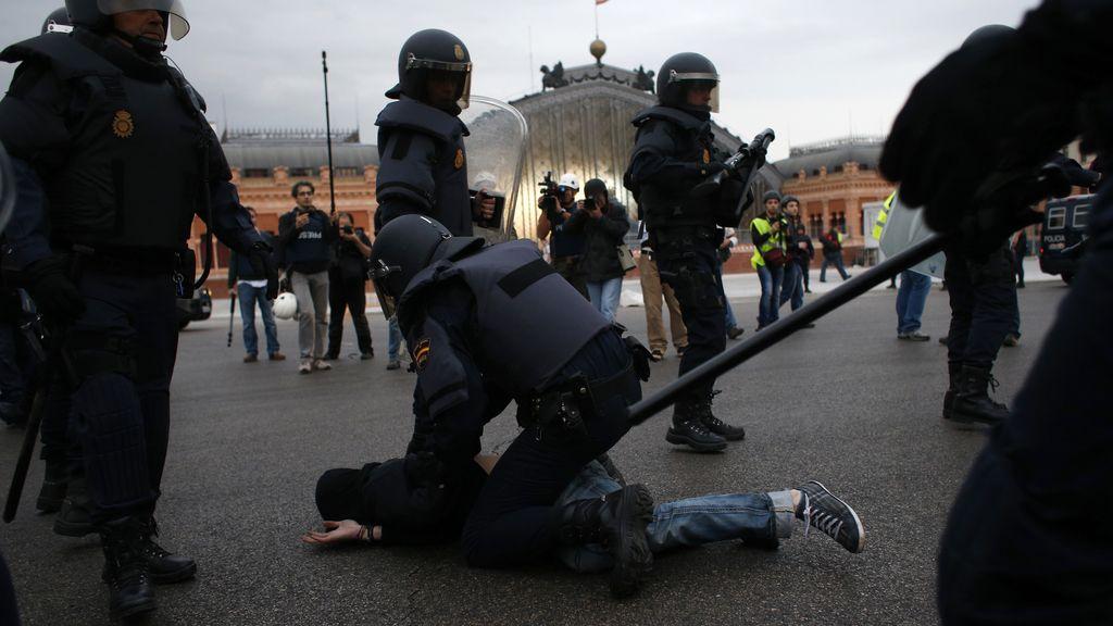 """El """"asedio"""" al Congreso, en imágenes"""