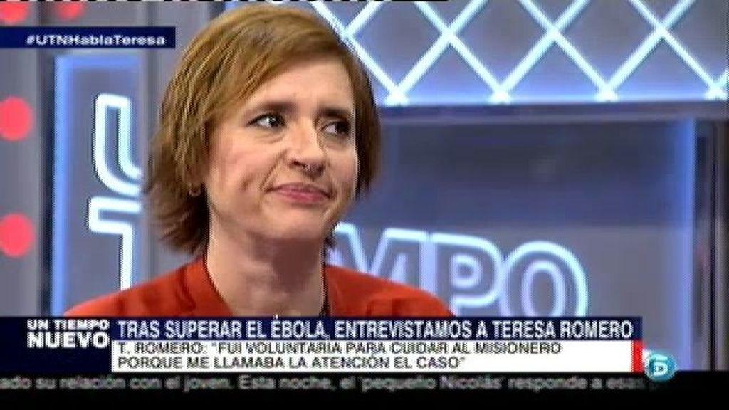 """Teresa Romero: """"Nunca nos dieron un curso, la verdad dista mucho de eso"""""""