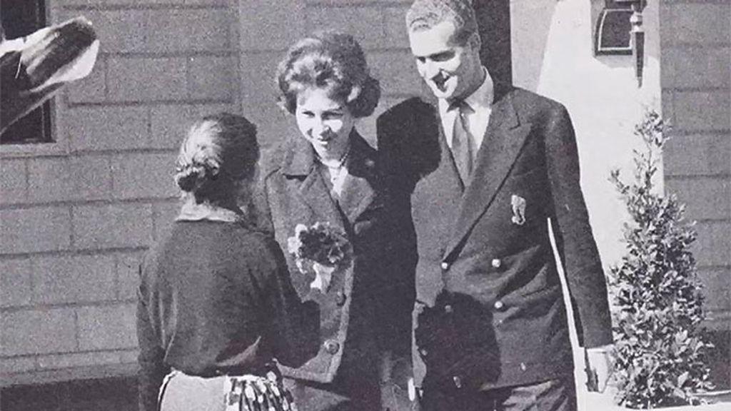 Don Juan Carlos y Doña Sofía, muy controlados por Franco mientras en El Pardo