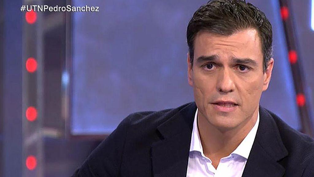 """Sánchez: """"Hasta el 9N voy a tender la mano al presidente para reformar la constitución"""""""