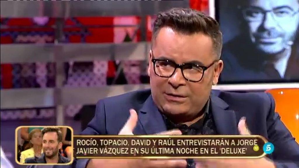 """Jorge Javier: """"Creo que 'Sálvame' ha tenido tanto éxito por la crisis económica"""""""