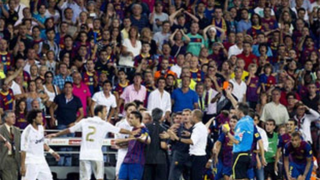 """El club blanco asegura haber """"optado por la línea de la prudencia para no alimentar el clima de tensión creado"""".Tito Vilanova. Foto: EFE."""