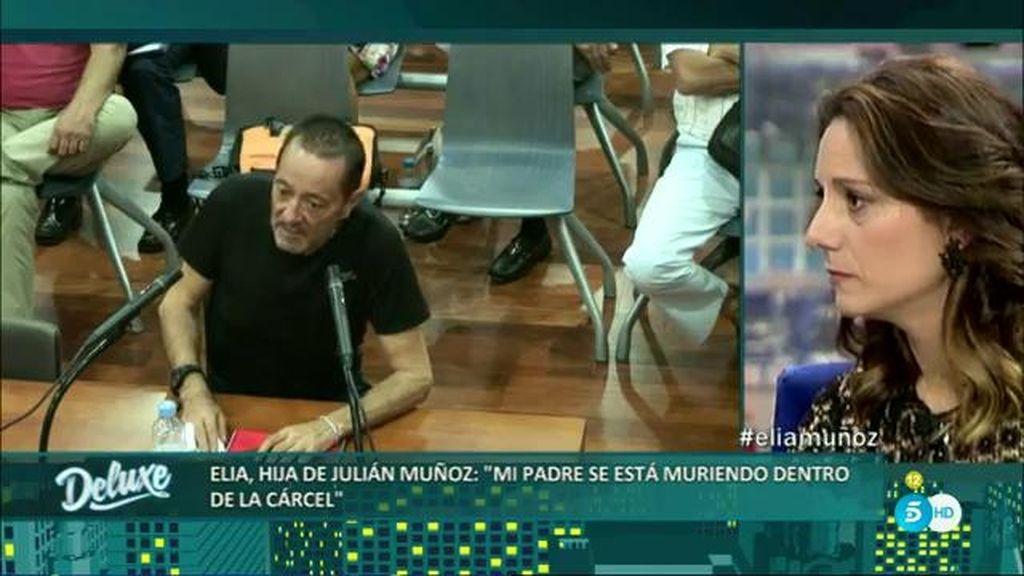 """La hija de Julían Muñoz: """"Voy a luchar porque salga de la cárcel con vida"""""""