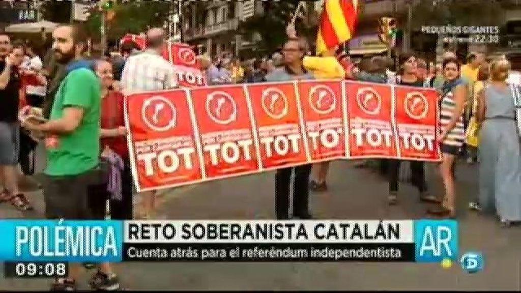 Si Artur Mas convoca la consulta, el Ejecutivo de Rajoy actuará